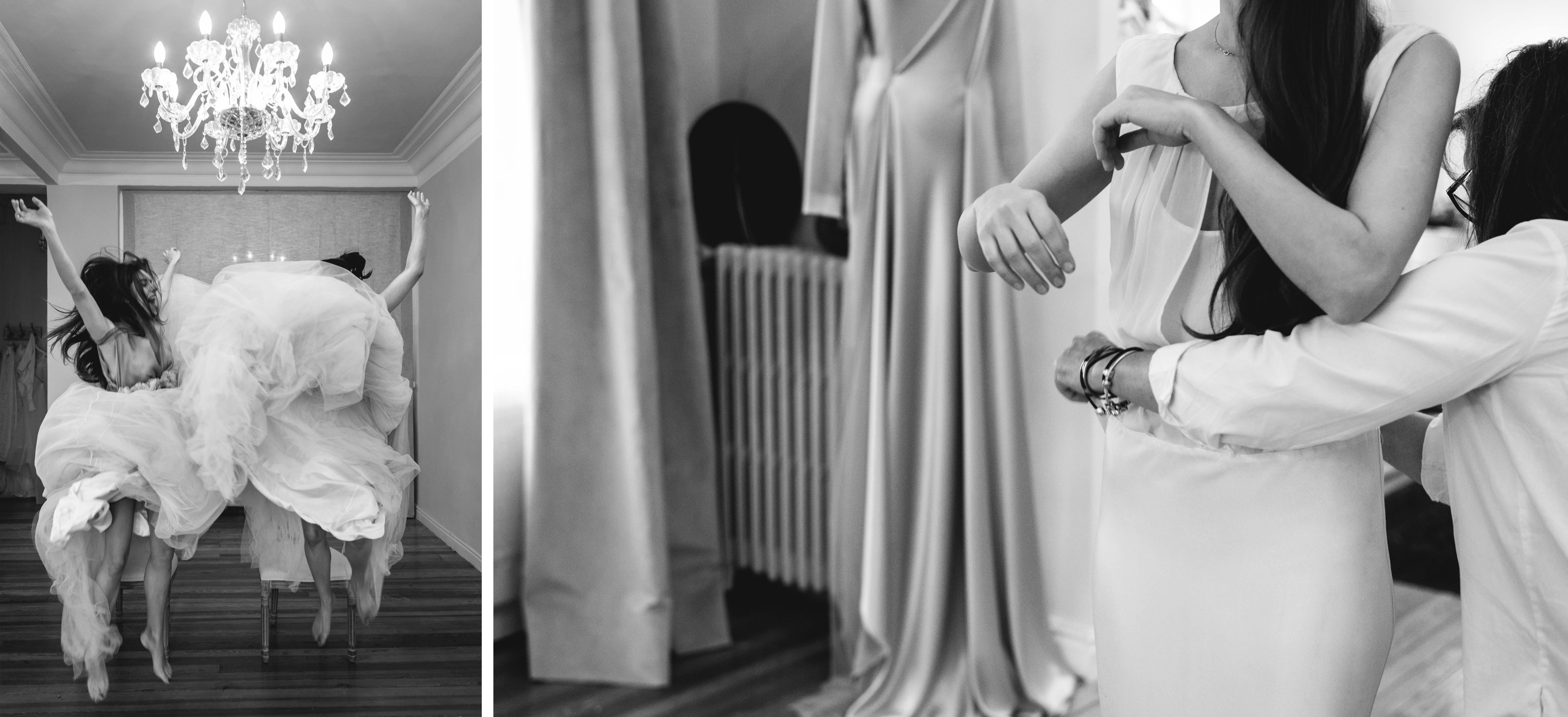 los vestidos de novia de Carmen soto