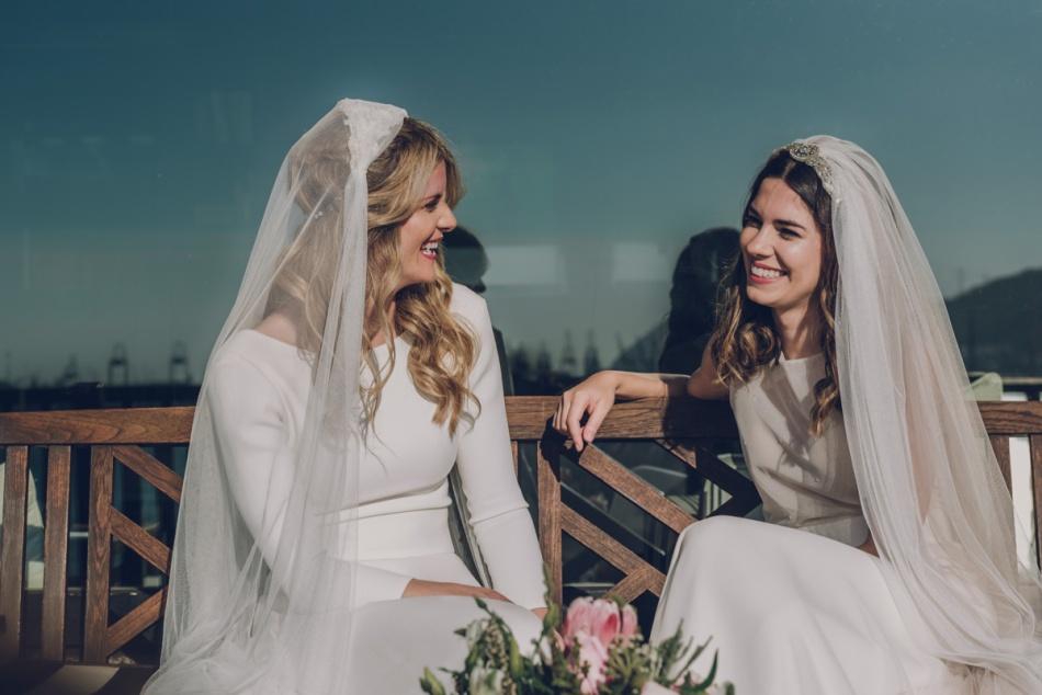 pareja de novias llamazaresfoto