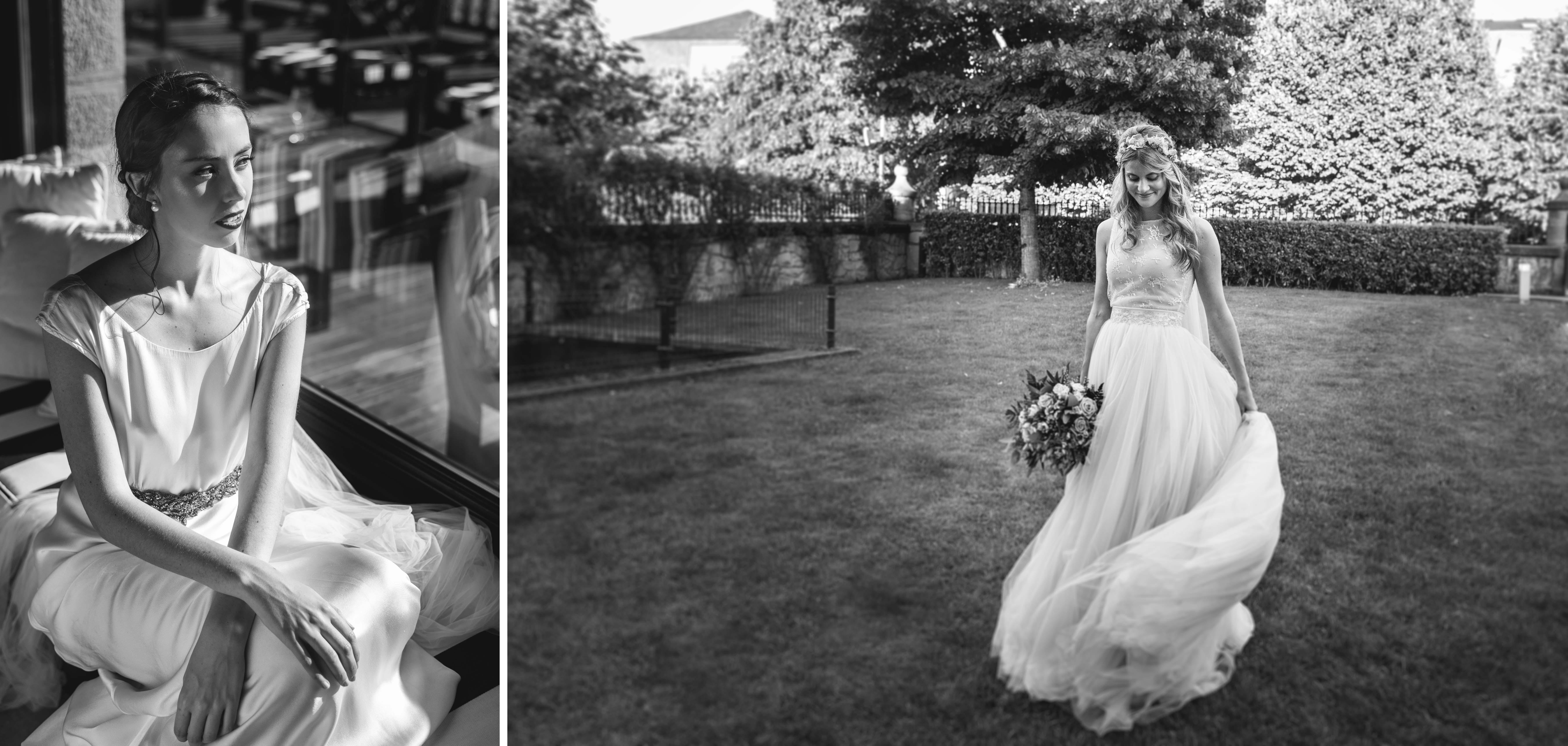vestidos de novia con velo