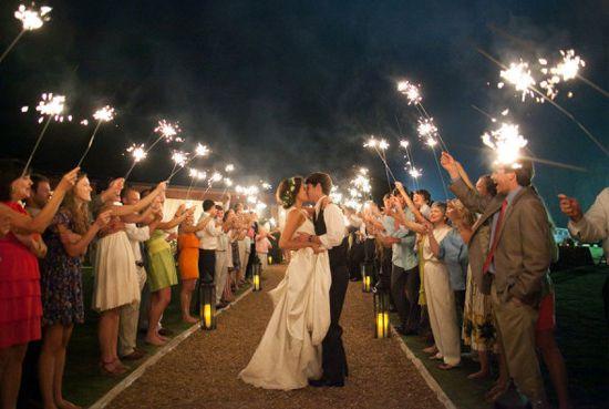 bengalas para boda