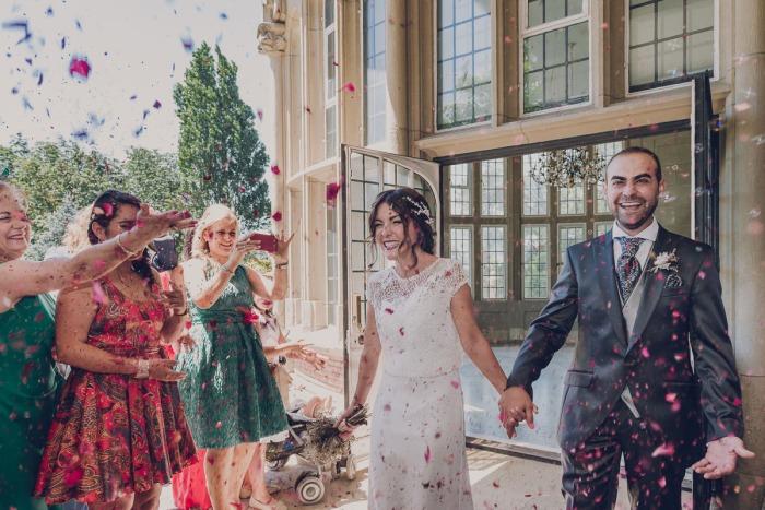 popurrí de flores para bodas