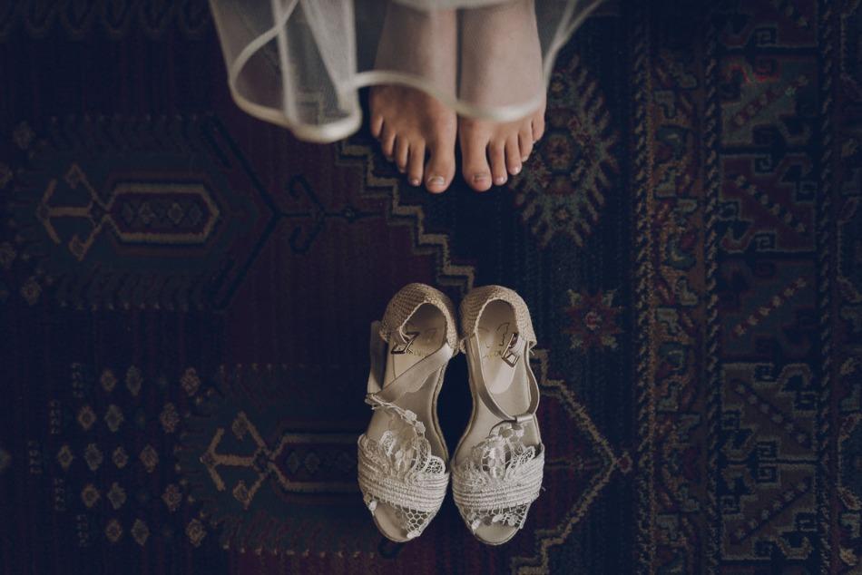 calzado de novia vegano