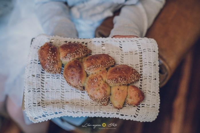 pan en vez de arras