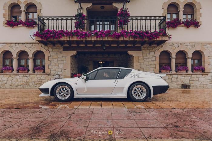 coche deportivo para bodas