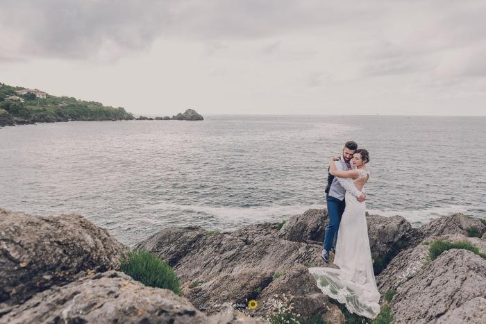 fotos de pareja junto al mar