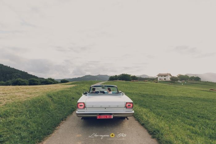 coches bonitos para boda bizkaia