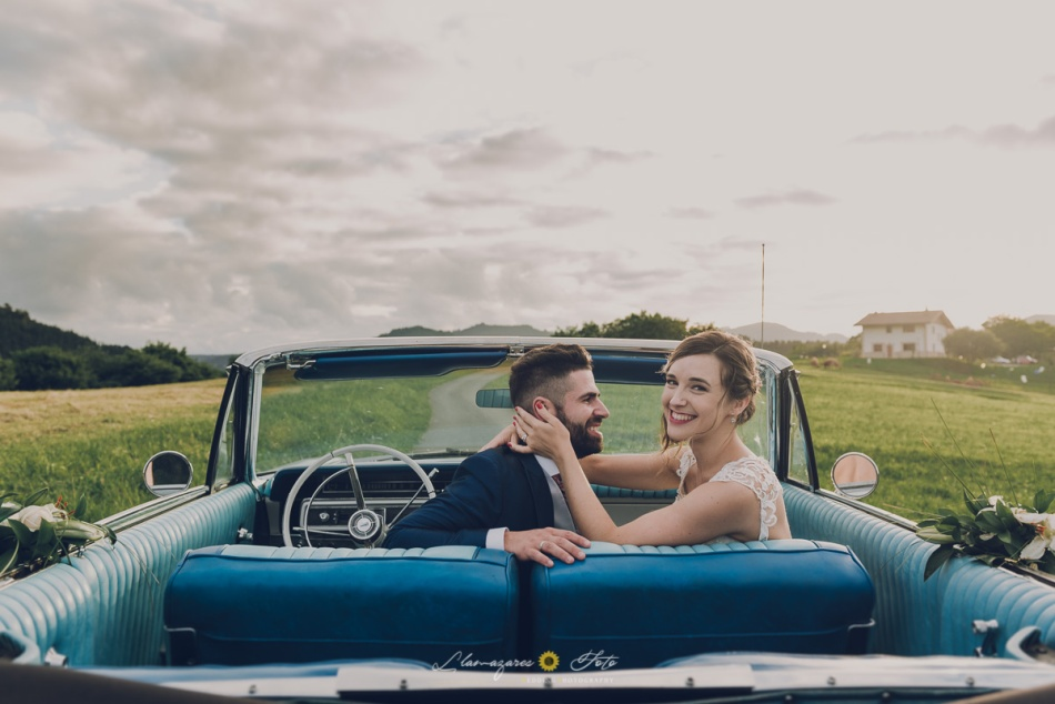 coches descapotables boda