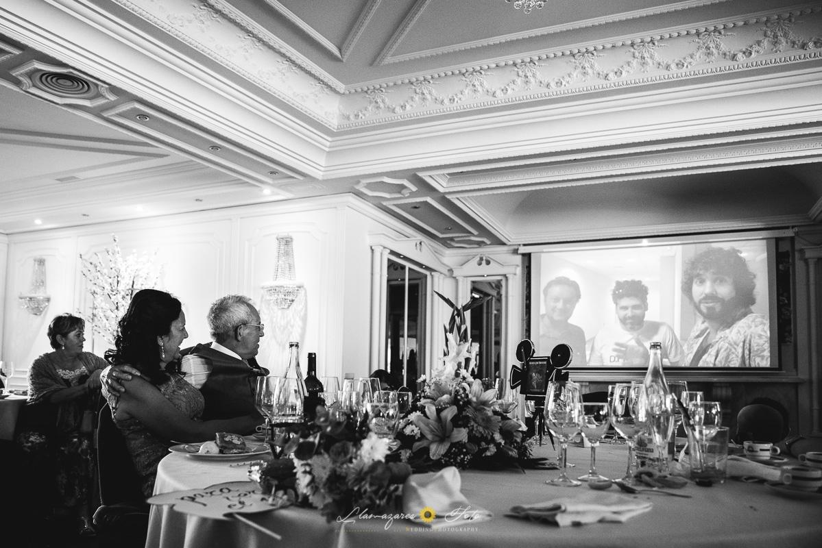 video de amigos en una boda aranda