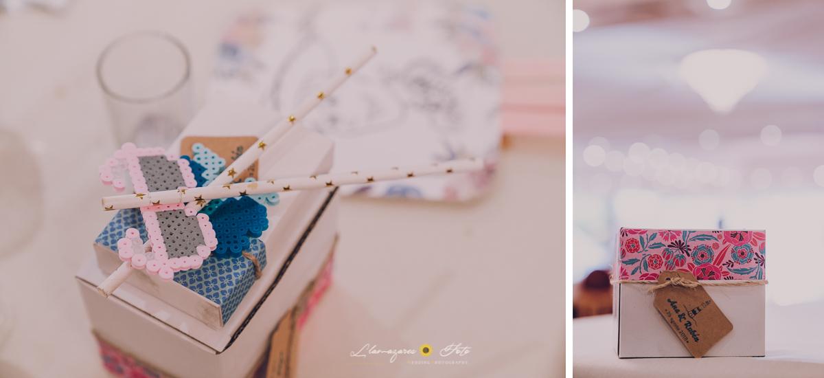 detalles pixelados para boda