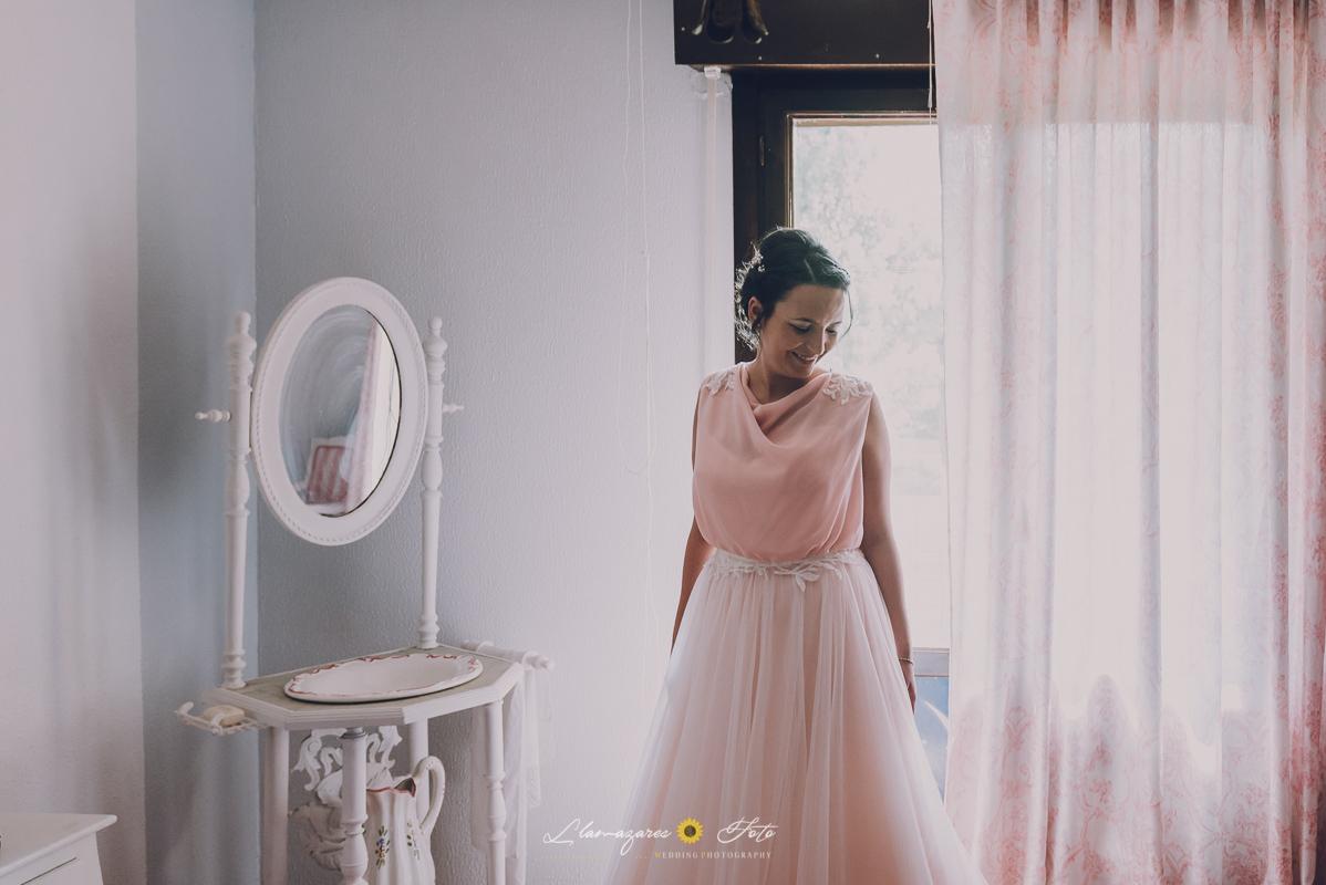 novia de rosa