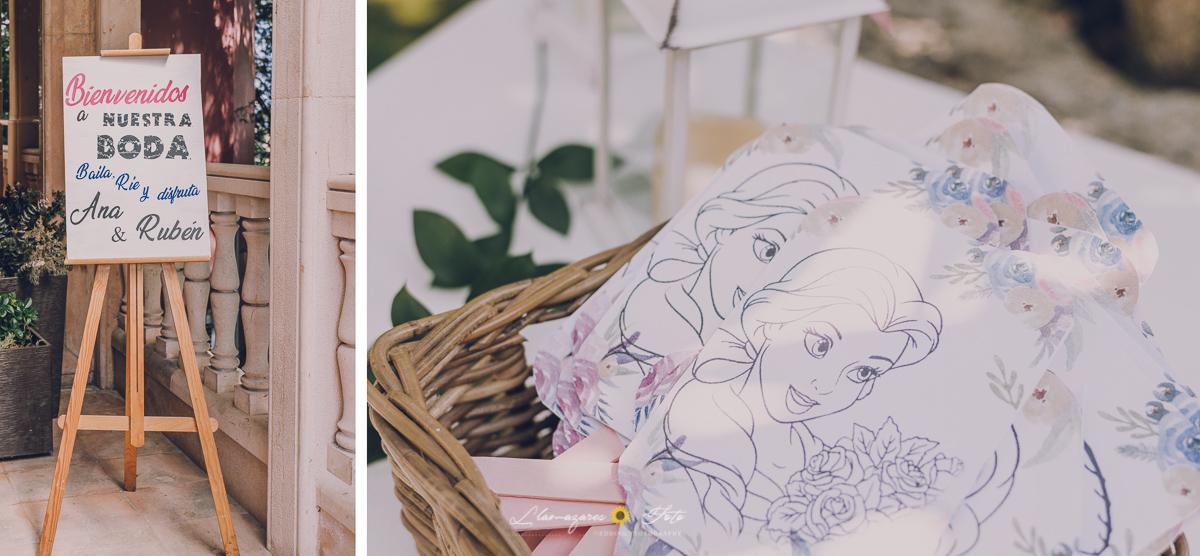 detalles disney para boda