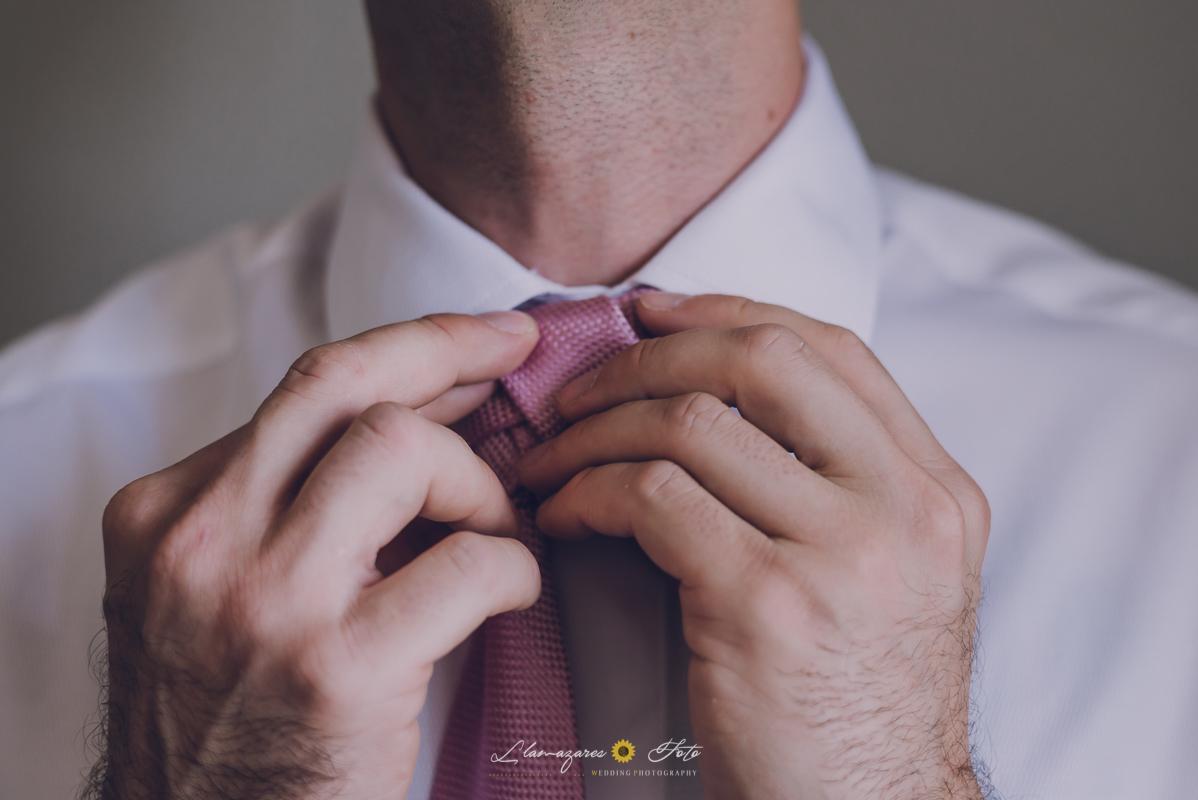 corbata del novio