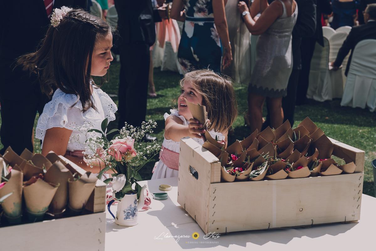petaloos de boda